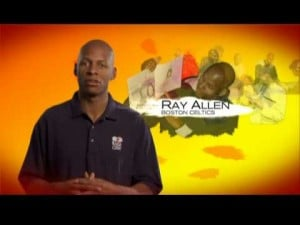Ray Allen NBA Cares